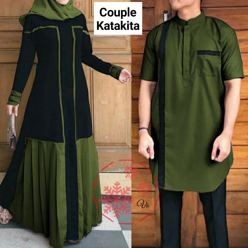 Muslimah Couple Pasangan Terbaru 2020 Couple Katakita Couple Muslim Gamis Pasangan Terbaru 2020 Kapelan Baju Kapelan Keluarga Gamis Couple Pasangan Lazada Indonesia