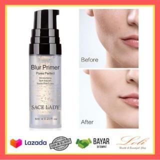 BISA BAYAR DITEMPAT (COD) - Sace Lady Blur Primer Natural Base Make Up Primer Longlasting 6ml thumbnail