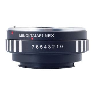 Adapter For Sony Minolta MAF AF lens to Sony E Mount NEX-3 NEX-5 Camera DC111 thumbnail