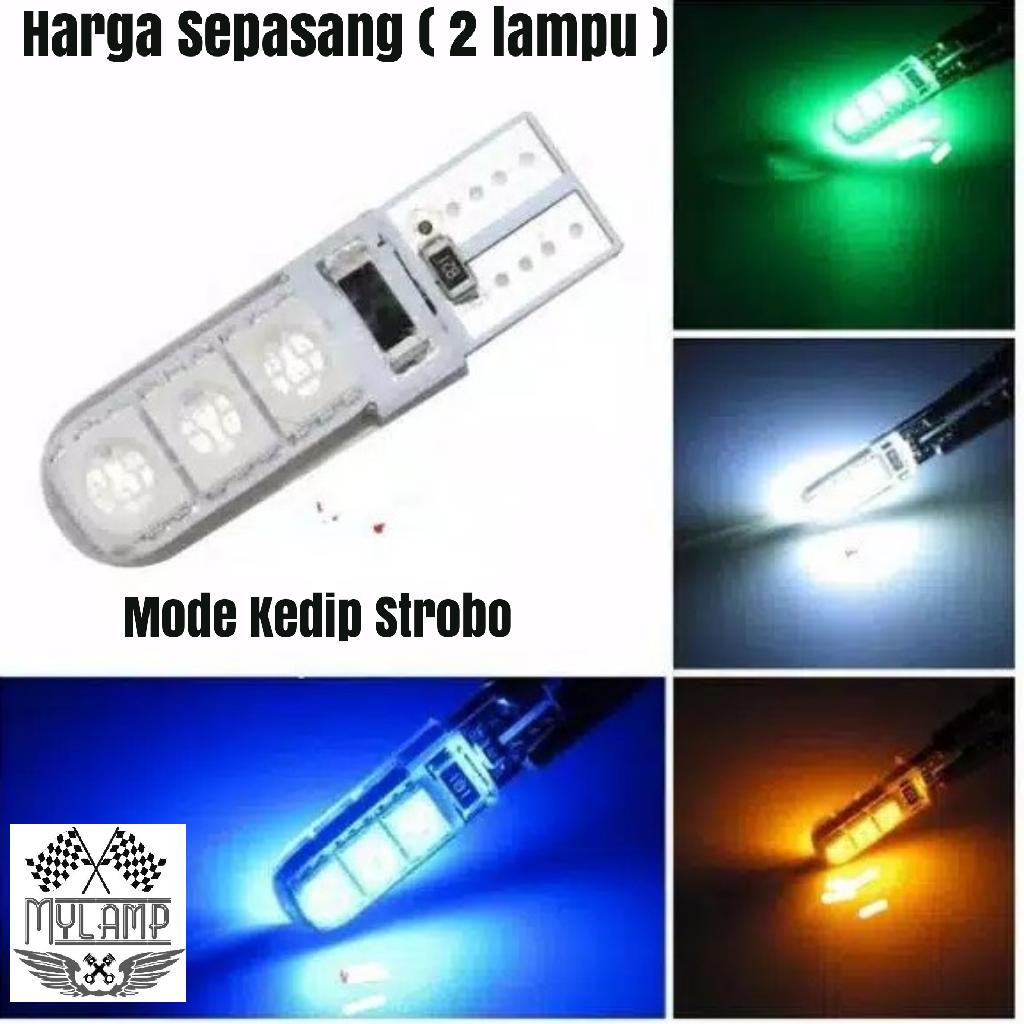Lampu Sein/senja led kedip strobo sepasang (2 pcs)