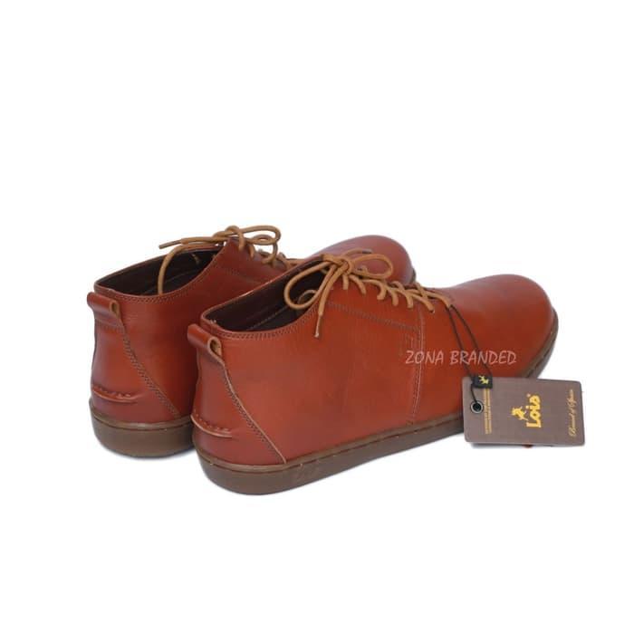 PROMO   BEST SELLER   DOMPET   Sepatu kulit Casual pria branded original  lois LS- 4eb33d4a30