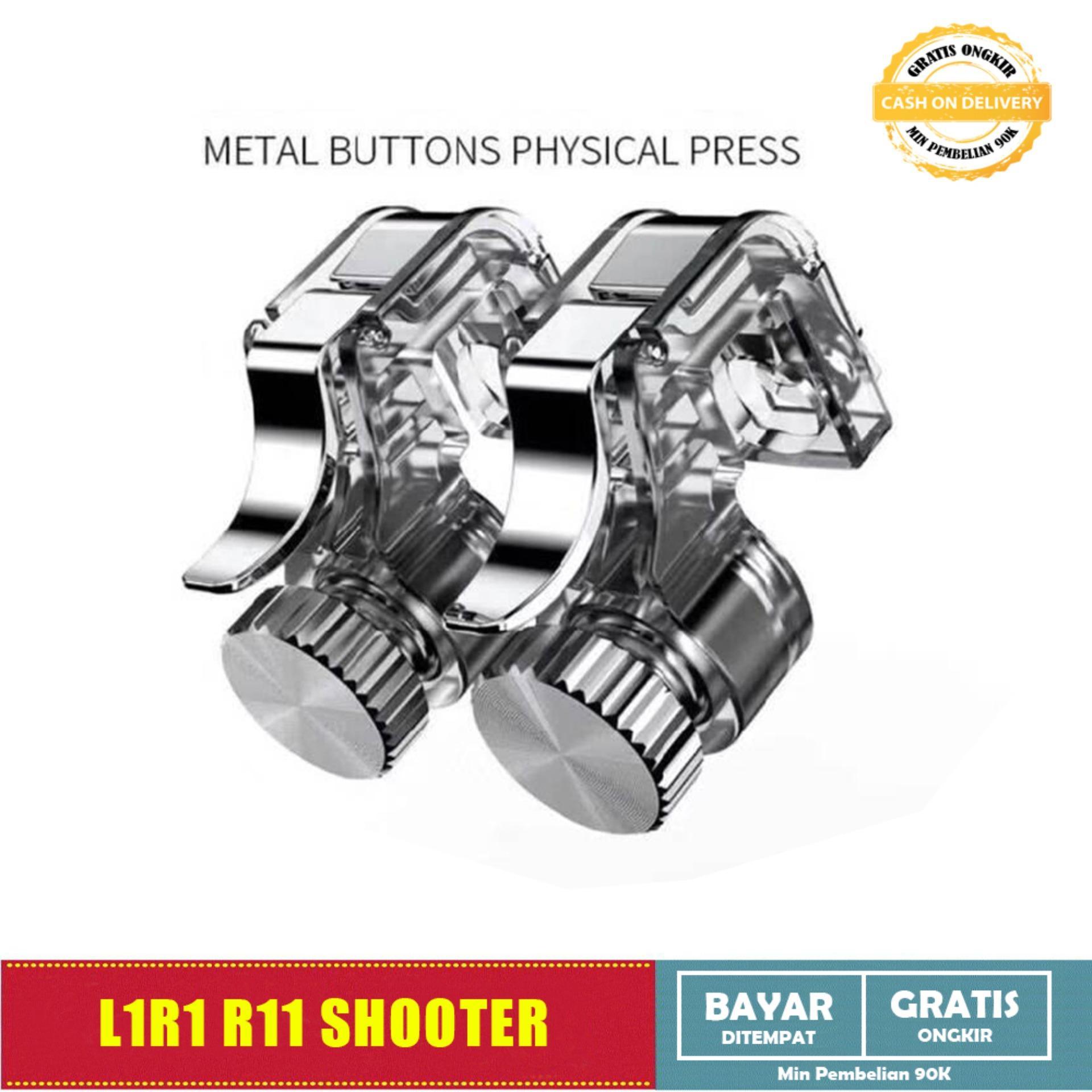 L1r1 R11 Besi / Metal R1l1 Fire Button Pubg Ros Free Firefps Triggers Tombol R1l1 L1r1 By All Item Store.