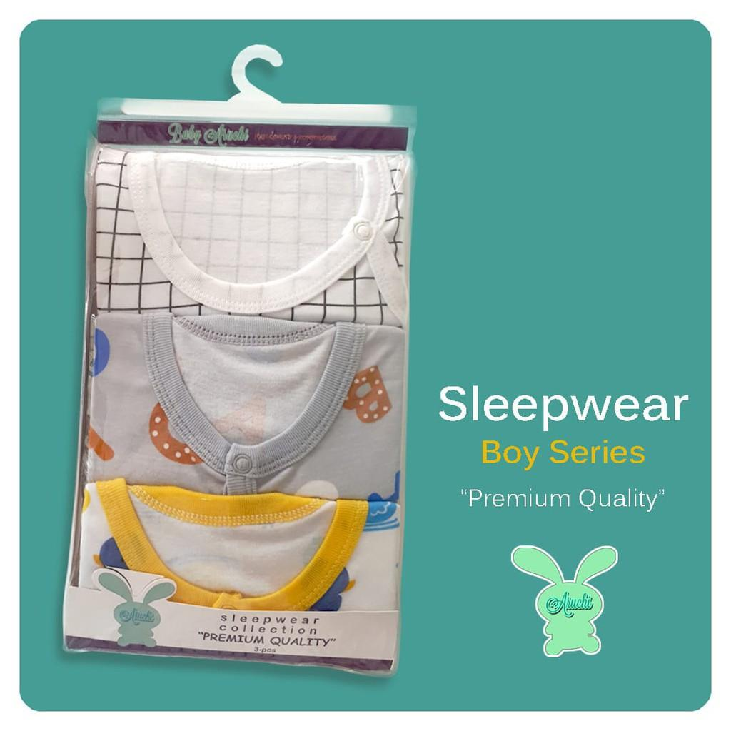 Online Shoping - New Sleepsuit Aruchi ( isi 3 pcs )