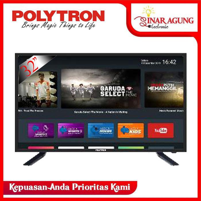 SMART TV POLYTRON PLD 32AD1508 MOLA TV SMART (GARANSI RESMI)