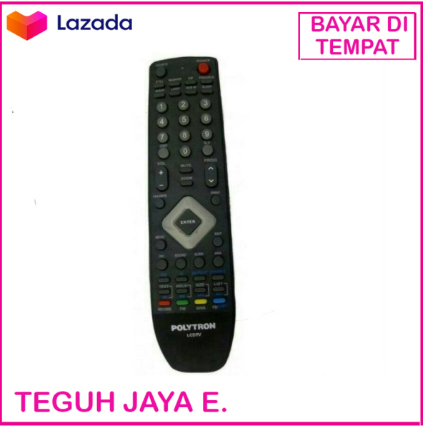 Polytron Remot LCD LED TV - Hitam
