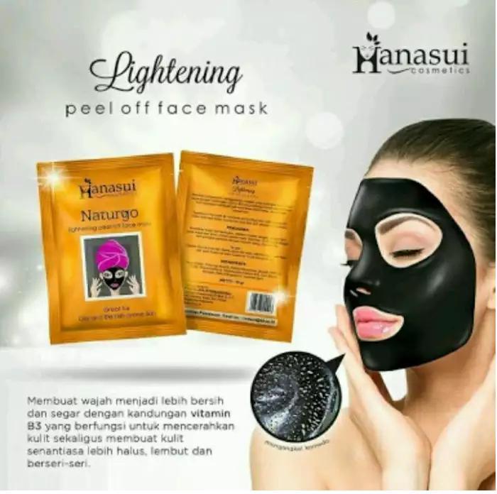 Black Free Aplicator Kuas Loopseekers. Source ... Gel Source ·. Source · Hanasui - Naturgo BPOM - Masker Lumpur - 100% Original - 10 Sachet | Lazada