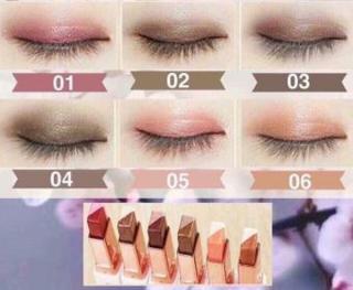 Novo Eyeshadow Stick Ombre Double Color Gradient Velvet Korean Style thumbnail