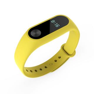 Thay Thế Vòng Đeo Tay Mi Band 2 Chính Hãng 100% Màu Trơn, Chất Lượng Cao, Silicone Wristband Xiaomi thumbnail