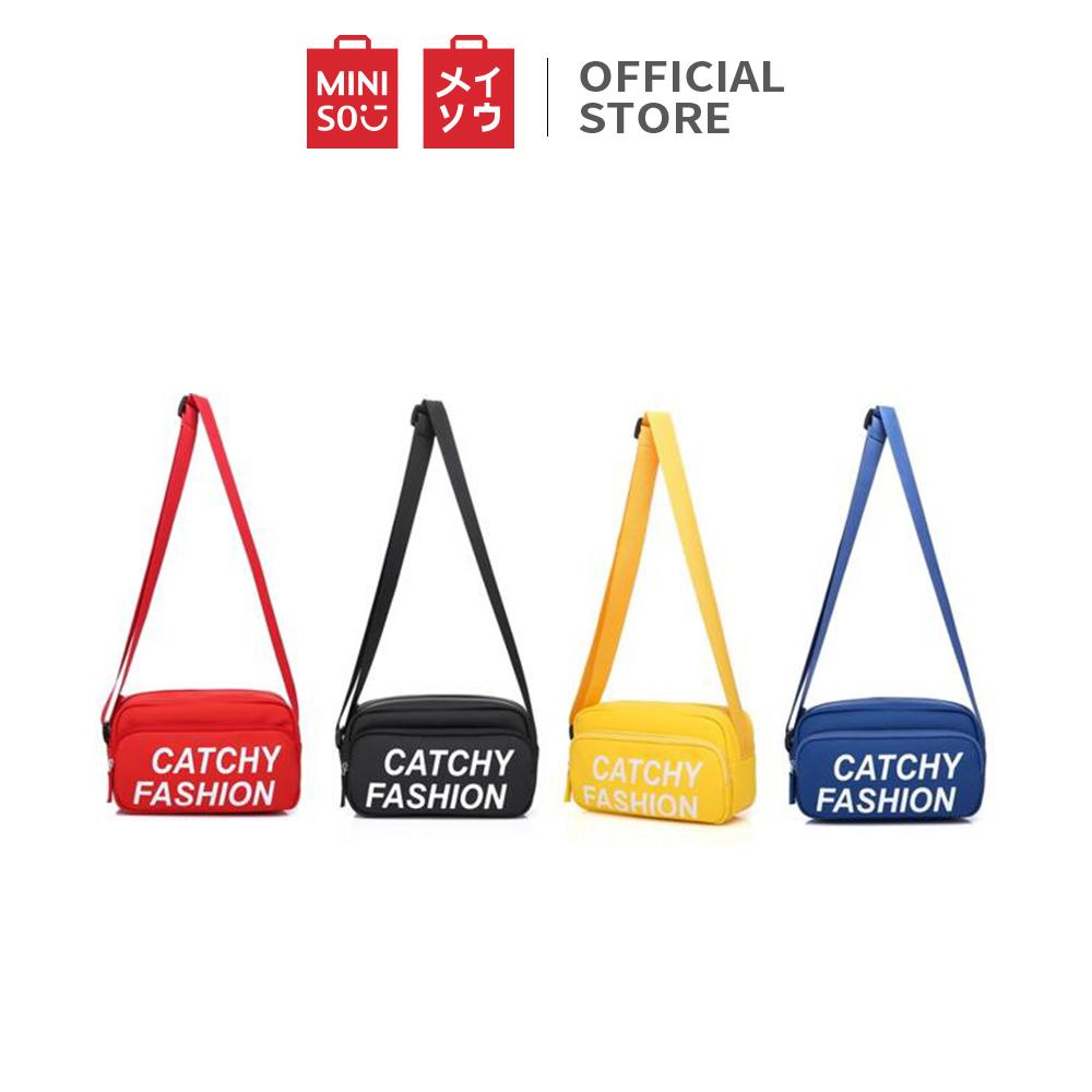 MINISO Tas Selempang Wanita Handbag Tas Bahu Sling Bag Fashion Kasual