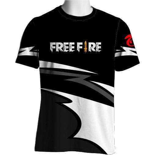 Sabelonu Jersey Baju Gaming Kaos Free Fire