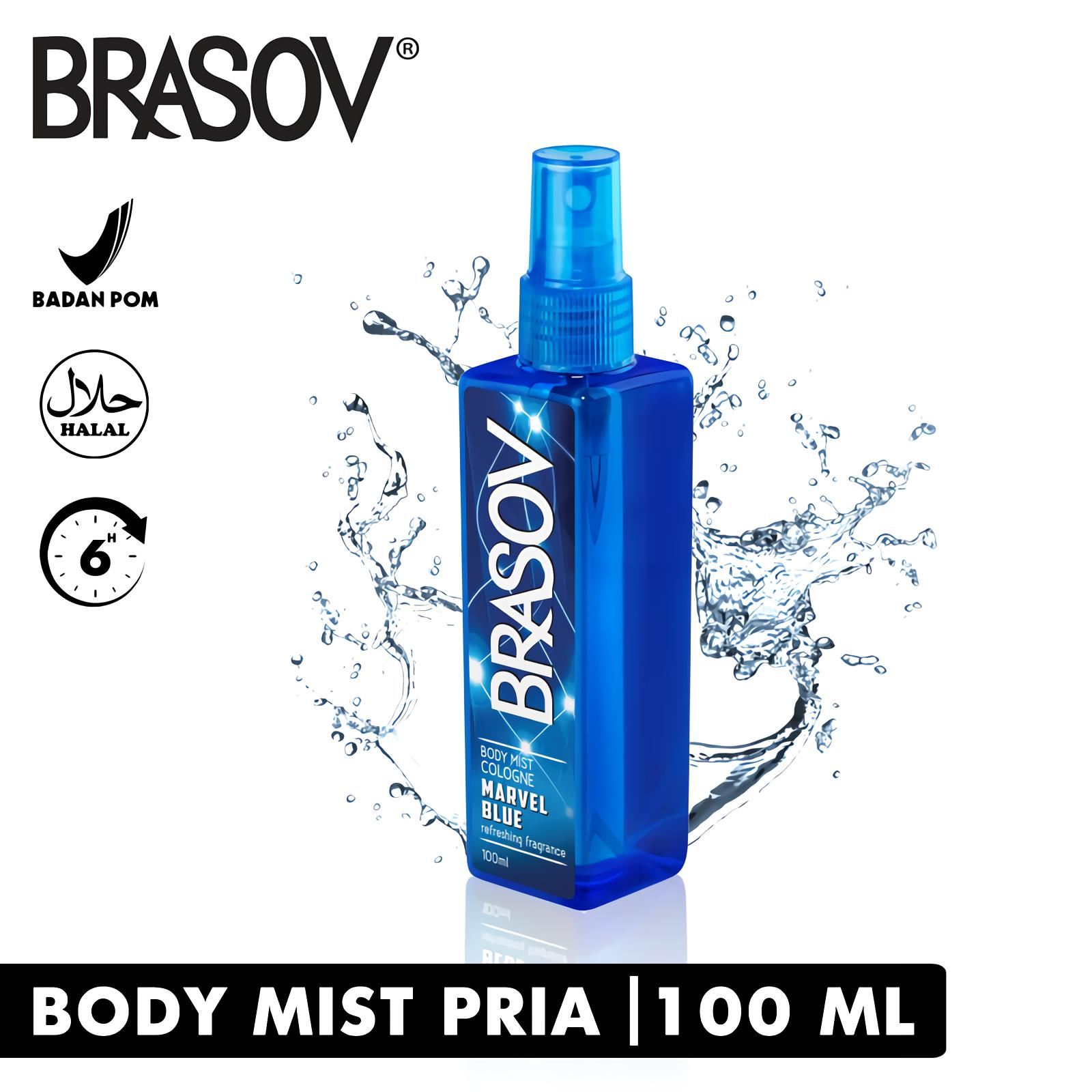 Brasov Original Body Mist Halal Xx Ct 671412 Wonder Violet Parfum Spray Netto 100 Ml Ungu Lazada Indonesia
