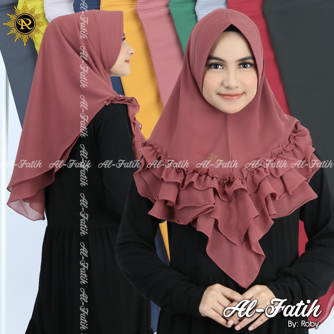 Detail produk dari Hijab/Jilbab Instan Model Bergo terbaru termurah dan Terlaris /ceruty bebydoll oval renda/di toko barma shop