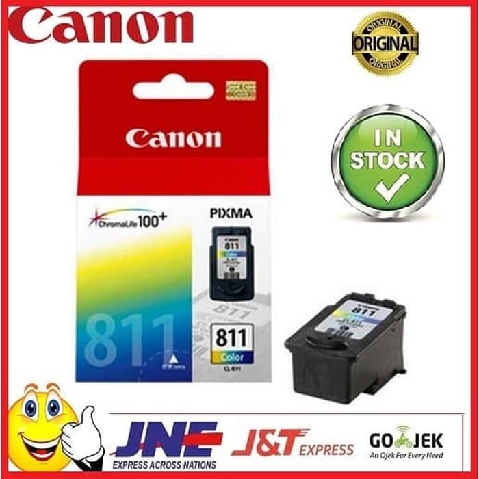 PROMO!!BISA COD!! Tinta Canon CL 811 Ink Cartridge Pixma Ip2770 Mp287 TERSEDIA JUGA tinta printer canon/tinta printer hp 680/tinta epson/tinta tato permanen