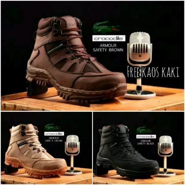 Sepatu Safety Tactical Boots Magnum Crocodile Armour Delta ,Adventure, Hiking, Tracking.