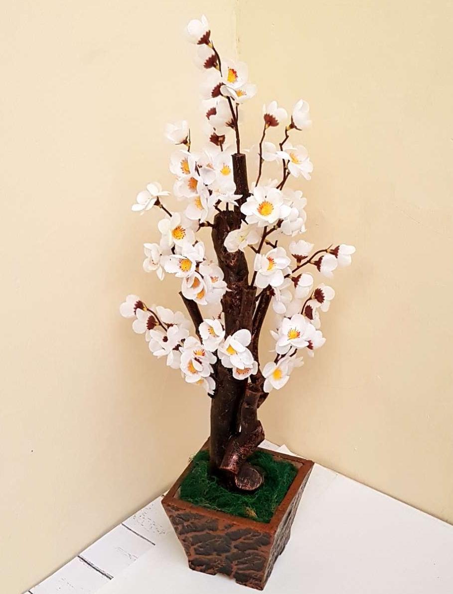 Bonsai Sakura Medium 60cm Hiasan Sakura Dekorasi Rumah