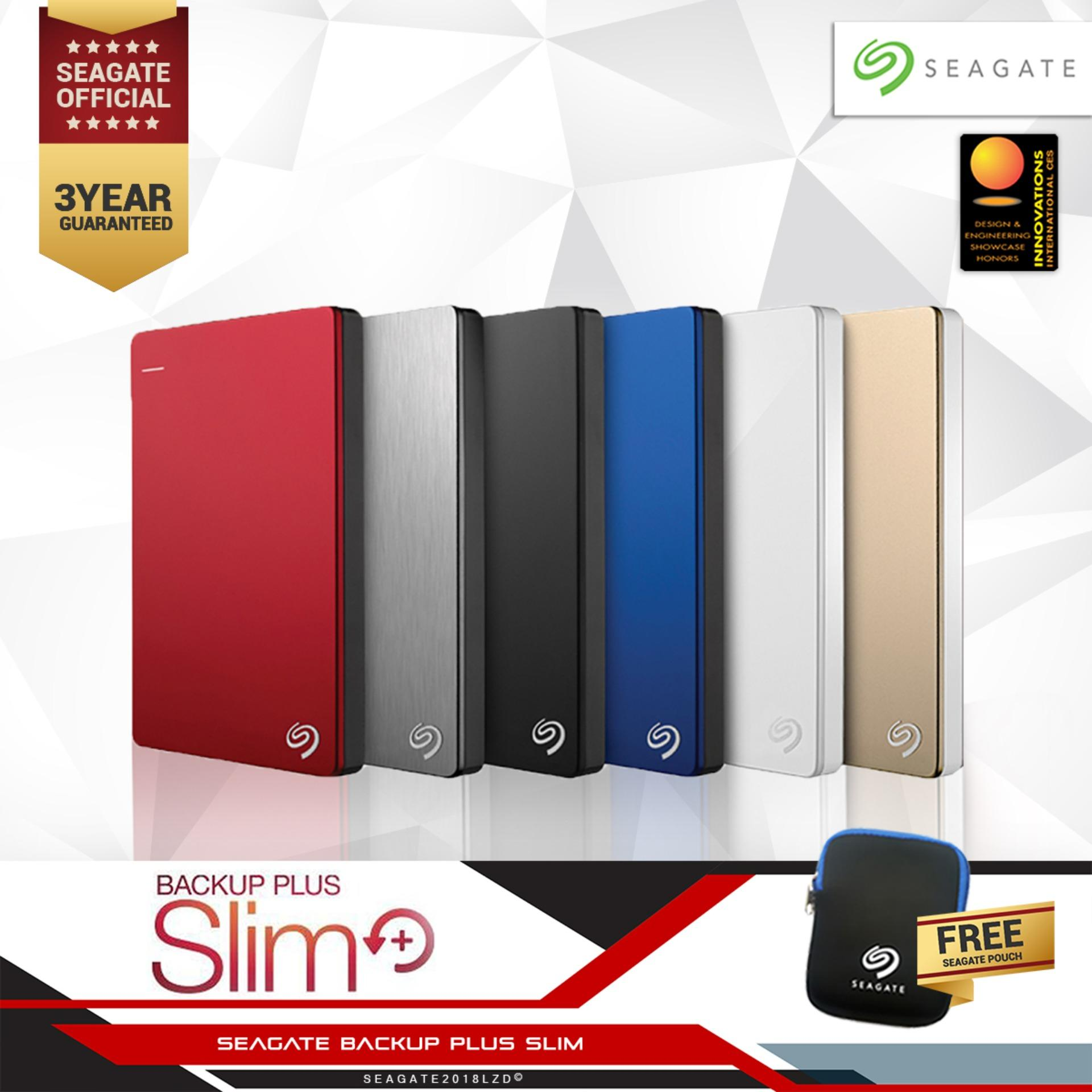 Seagate Backup Plus Slim Portable 1TB 2.5