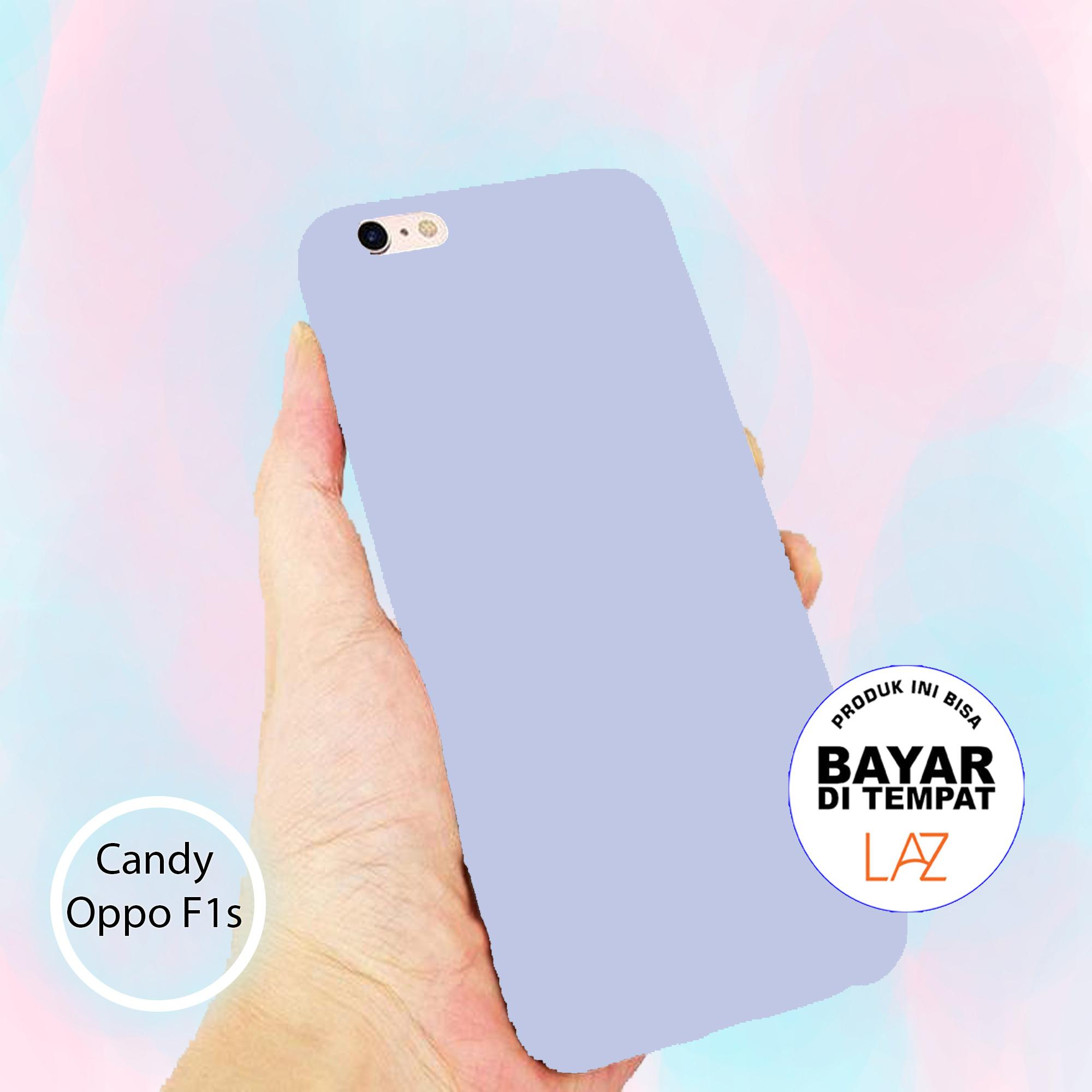 Softcase Candy All Color For Oppo F1s