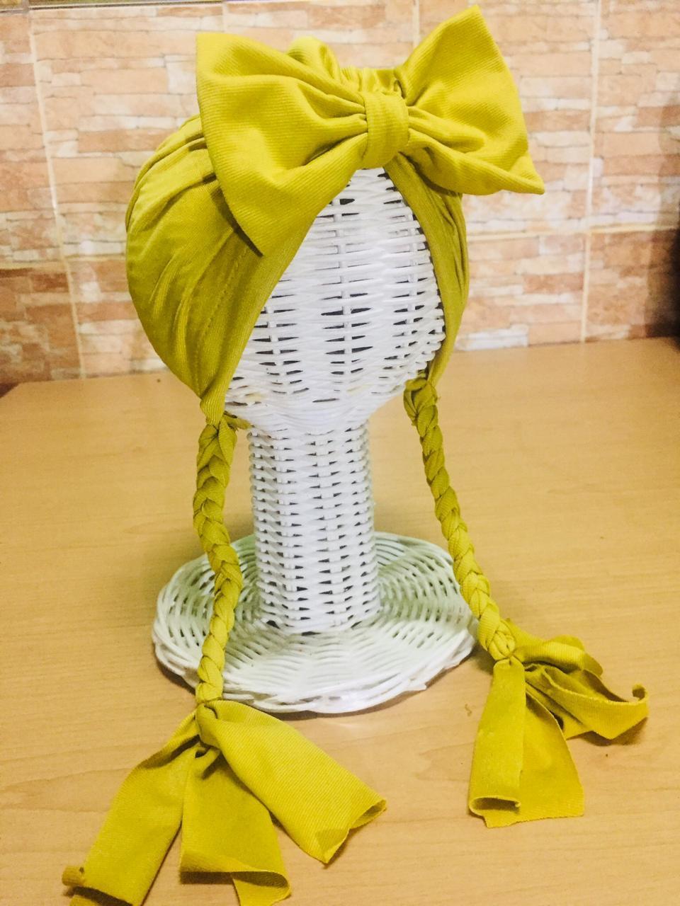 HNFSTORE - TURBAN FROZEN KEPANG Topi Anak Aksesoris Kepala Rambut Baby Bayi 2217f2bd16