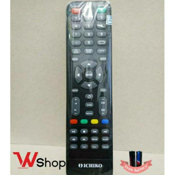 REMOTE/REMOT TV LCD LED ICHIKO ORIGINAL