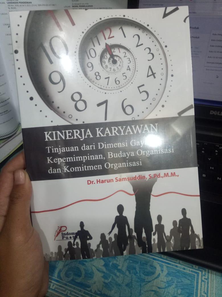 Buku Kinerja Karyawan -- Harun Samsuddin By Toko Buku Pustaka Hidayah.