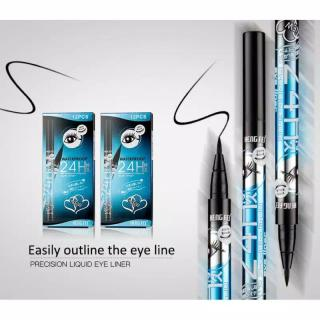 WATERPROOF PUDAIER Eyeliner Cair Big eye Warna Hitam Anti Air Wanita Eye liner tahan 24 jam yaqina aiyi - Xaiver thumbnail