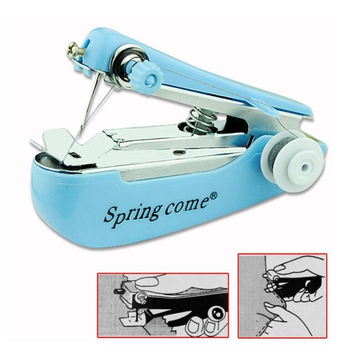 Beli 1 gratis 1 Mesin Jahit tangan Mini Kecil sewing Mini Machine kualitas original