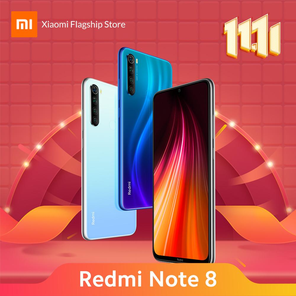 [Exclusive 11.11] Lazada Redmi Note 8 4/64GB 48MP Quad Camera Snapdragon 665 4000mAh