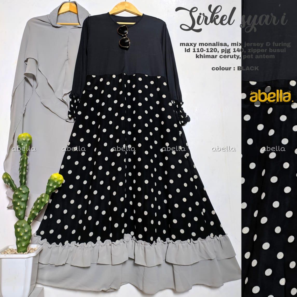 Sirkel Maxy Monalisa Mix Jersey Busui Model Gamis Terbaru 8 Untuk  RemajaModel Baju dress Panjang EleganDress Baju Muslim Wanita  TerbaruSketsa