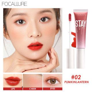 Focallure Staymax Moisturizing Lip & Cheek Tint Lip Care 7 Colors Waterproof Liquid Lip tint Blusher Makeup thumbnail