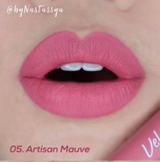 Lipcream WARDAH Matte Exclusive Matte Lip Cream - Lipstik Matte thumbnail