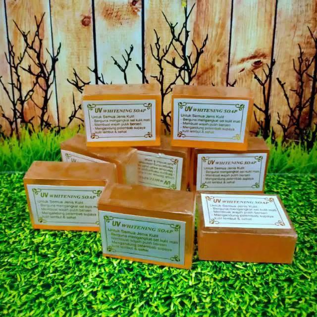 Sabun Uv Orange Transfarant Whitening Soap Sabun Pembersih Wajah Lazada Indonesia