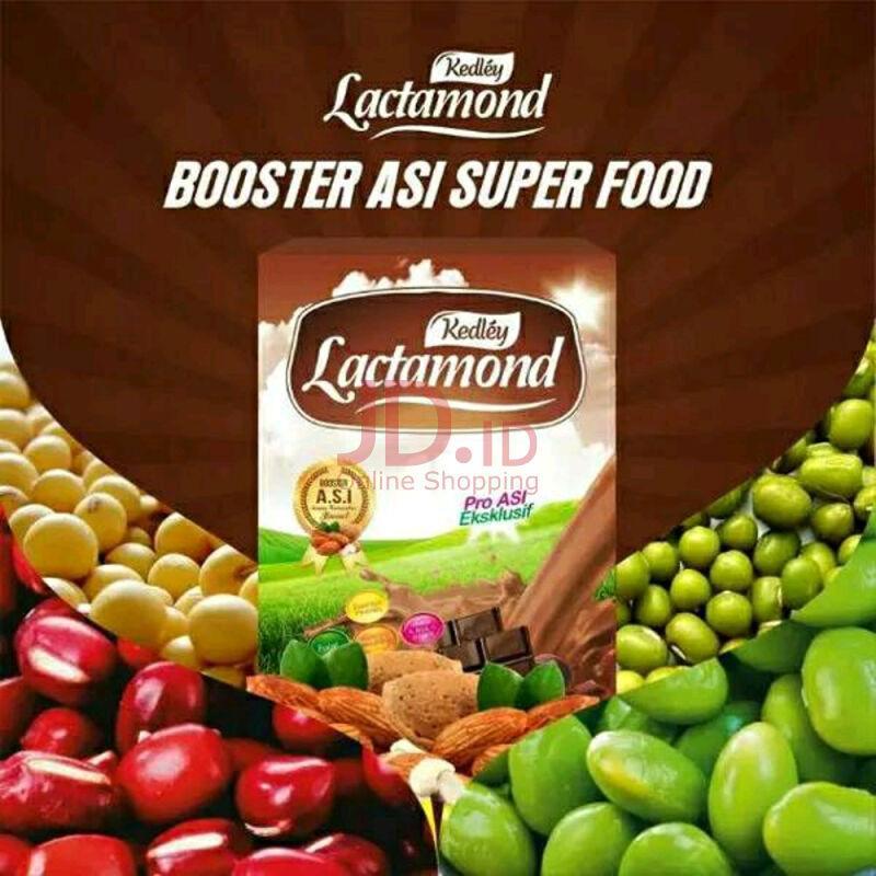 (COD) Paket Hemat 3 Kedley Lactamond Booster Asi Rasa Coklat @ 200 Gram - Minuman Penambah Asi - @ Rp 36.000