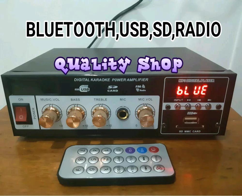 Ampli Davoz Usb Sd Radio ( Ada Display Di Ampli Nya ) By Yogi.sss.