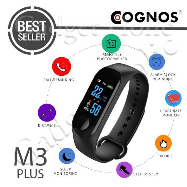 Cognos M3 Plus Smart Band Watch Xiaomi Mi Band 3 Smartband Smartwatch By Onixxes.