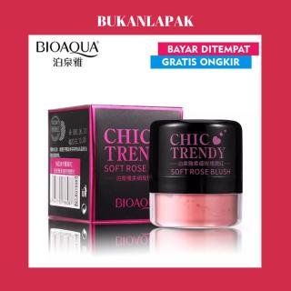 Bukanlapak - Bioaqua Chic Trendy Soft Rose Blush On Powder - Perona Pipi - 4gr [FS] thumbnail