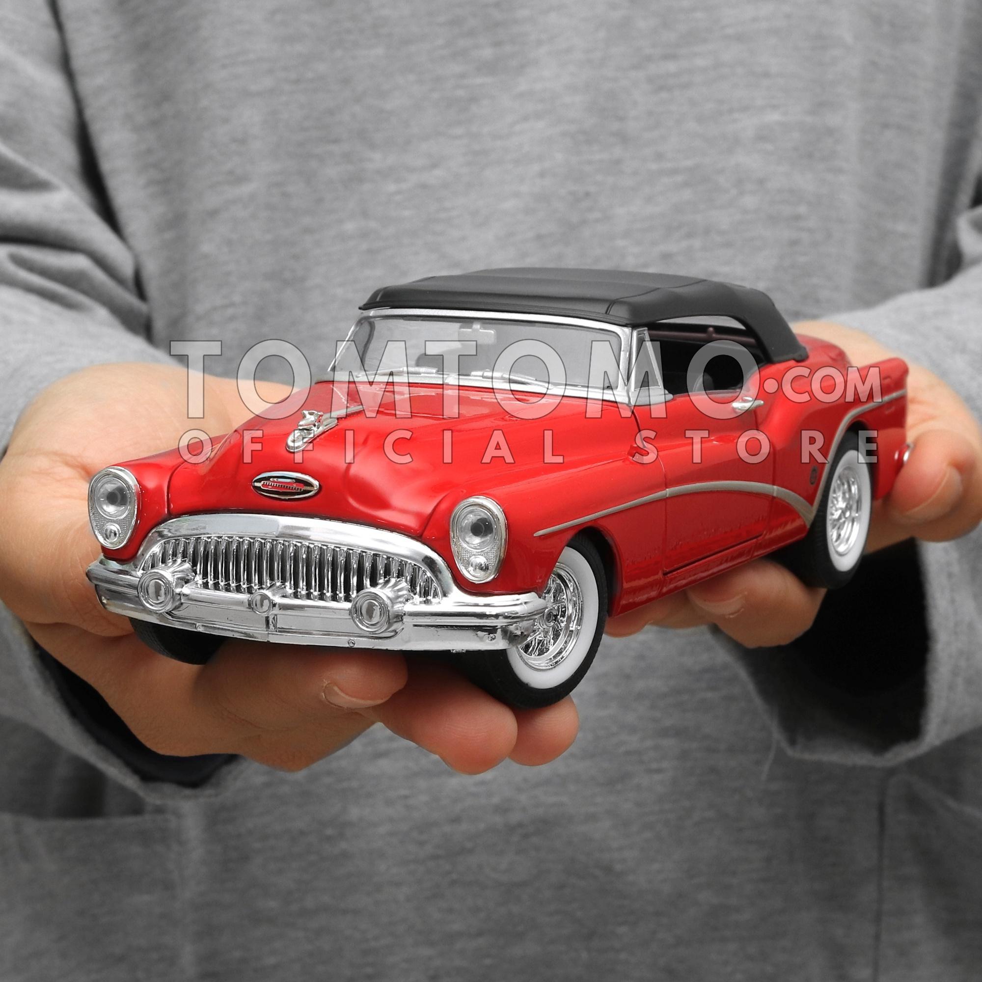 Buick 53 Classic Series Tomtomo Diecast Miniatur Mobil Mobilan Klasik Antik Kuno Kado Ultah Mainan