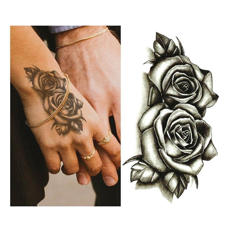 Tatto Temporary Tato Temporer Tato Sementara Bunga Lazada Indonesia