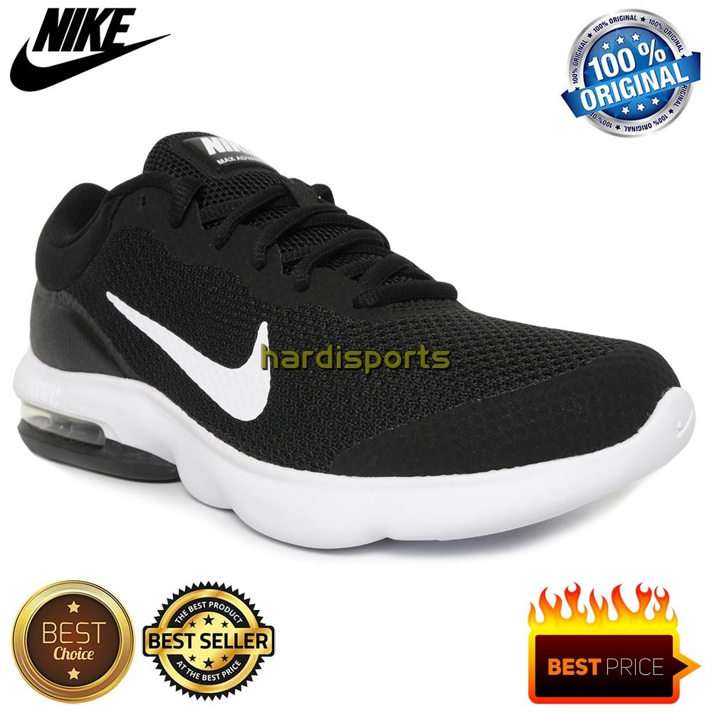 Sepatu Running Pria Nike Air Max Advantage 908981-001 - Black 3e09696fcb