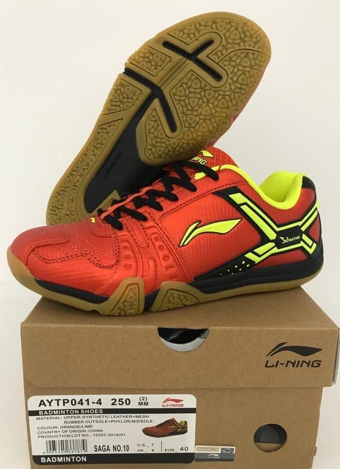 Rp 435.000. Original Lining Saga No. 10 Sepatu Badminton  BulutangkisIDR435000. Rp 458.200. LINING sepatu pria Sepatu olah raga resmi  2019 musim semi model ... 772459af5c