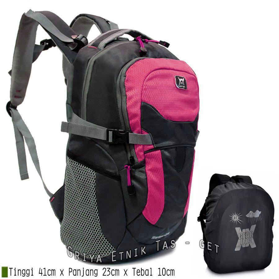 Tas ransel pria distro terbaru Gear Bag Series 04 10 Liter Bonus Rain Cover  - Backpack 604a82edf2