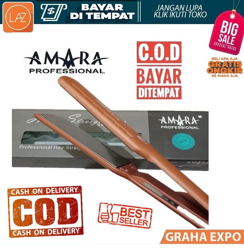 Amara Catok Catokan Rambut Lurus Hair Straigthener Ionic 1333 Baby Liss  Plat Lebar Professional Model Terbaru e2d89e9c10