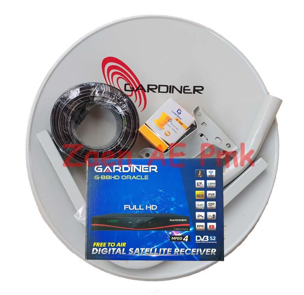 Antena Parabola Mini & Receiver Rekomendasi Ninmedia Lengkap Siap Pasang By Zaen Atheros Elektronik-.