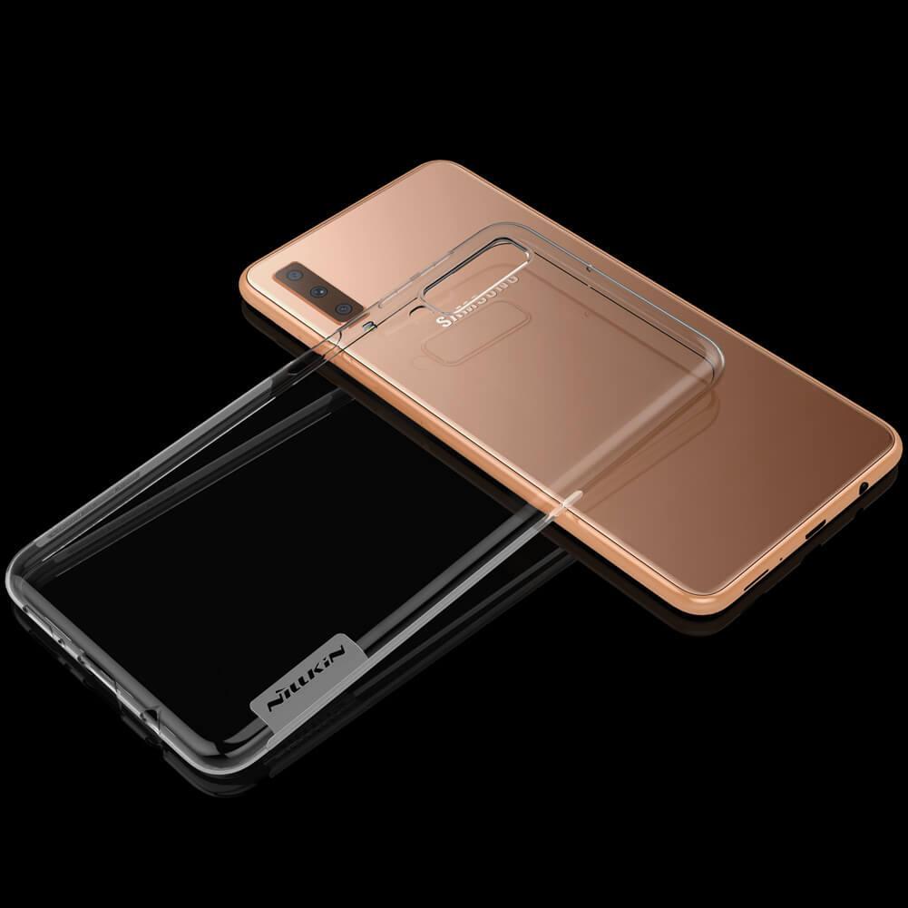Nillkin for Samsung Galaxy A7 (2018) Original Nature TPU Soft Case / Jelly Soft Case - Putih Transparan