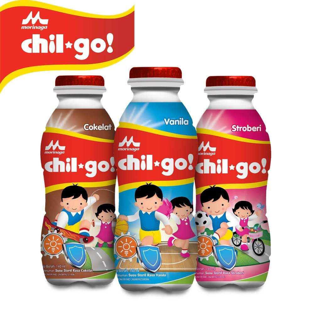Chil Go Morinaga Strawberry (140ml) By Babycenter.
