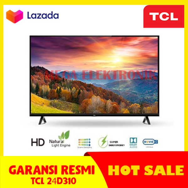 TCL 24D310 LED TV 24 INCH