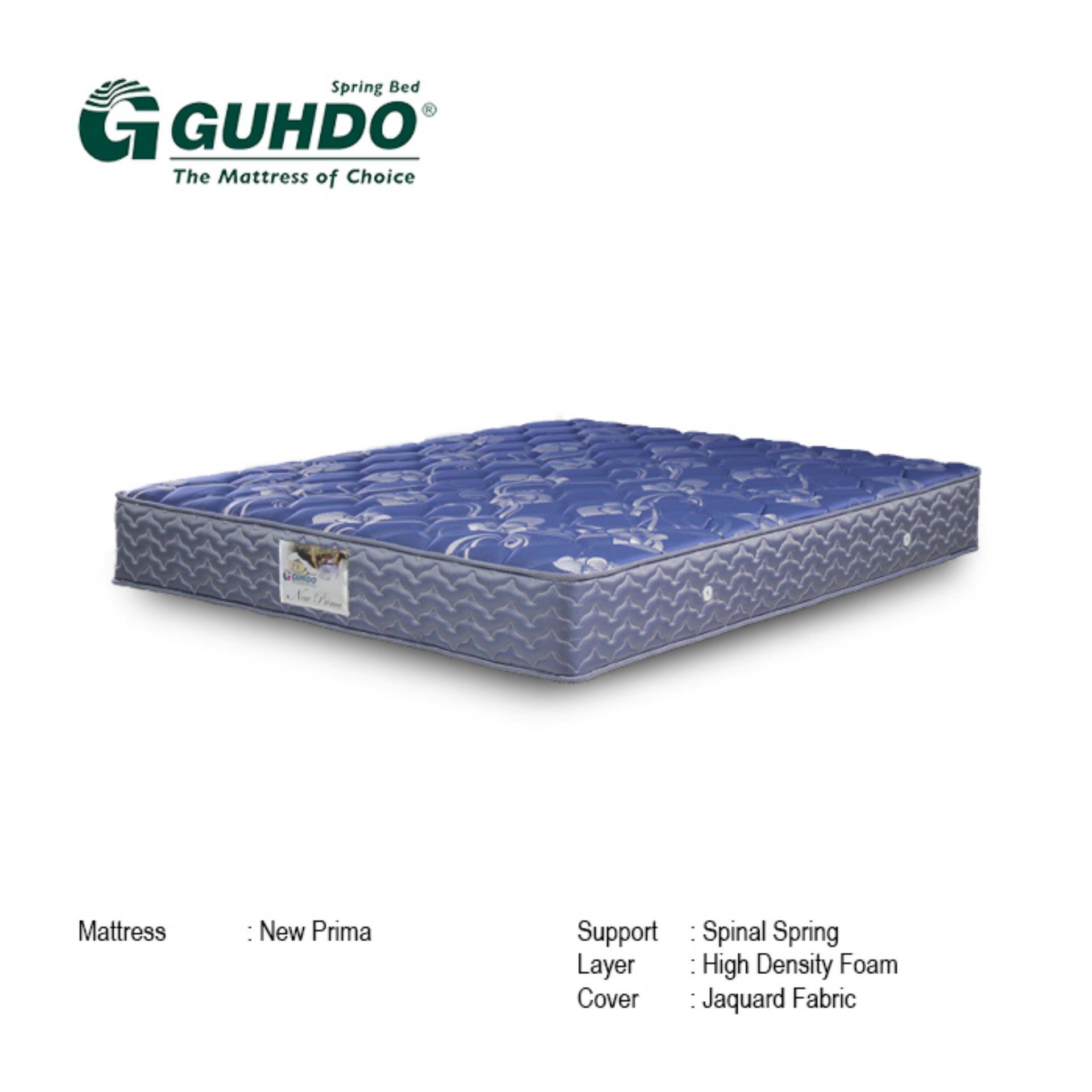 Guhdo Kasur Springbed New Prima Biru Size 140 X 200 Tebal 25 Cm Spring Bed Mattress Only Khusus Jabodetabek Lazada Indonesia Harga kasur spring bed kecil