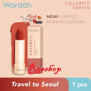 Wardah Colorfit Ultralight Matte Lipstick Korea Edition thumbnail