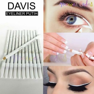 KSR - (COD) Pensil alis davis putih eyeliner davis putih davis putih MAKEUP WANITA MURAH thumbnail