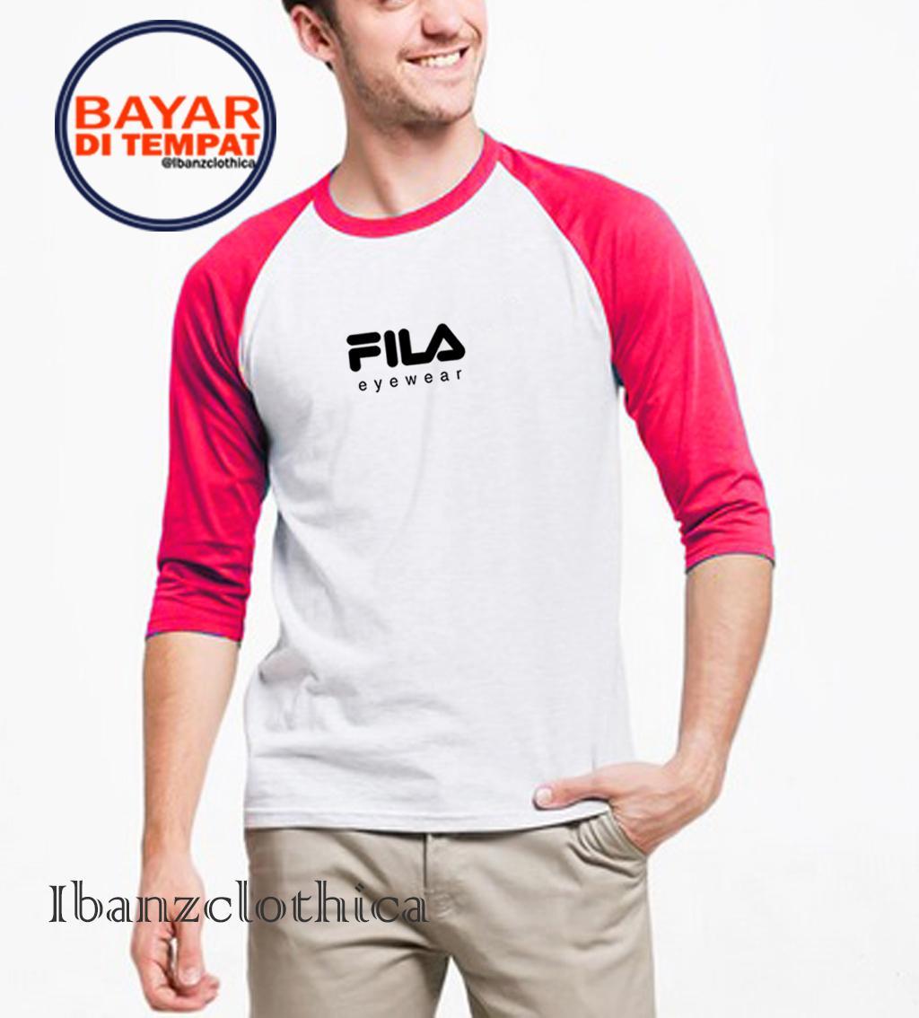 Ibanzclothica - Kaos Fila / Kaos Polos Marun - Hitam - Abu-abu - Navy - Merah Premium / Kaos Raglan / Kaos Pendaki / Kaos Outdoor