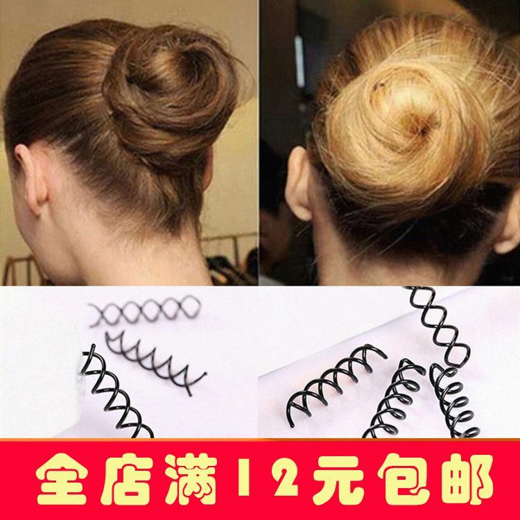 Kecantikan rambut Konde Rambut peralatan Klip spiral jepit rambut Korea Selatan Hiasan Rambut alat penggulung rambut